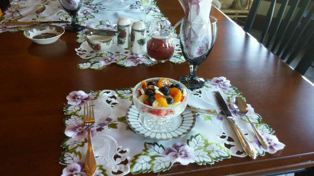 Belleisle Bay Bed and Breakfast Yogurt